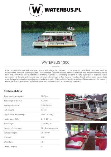 WATERBUS 1300