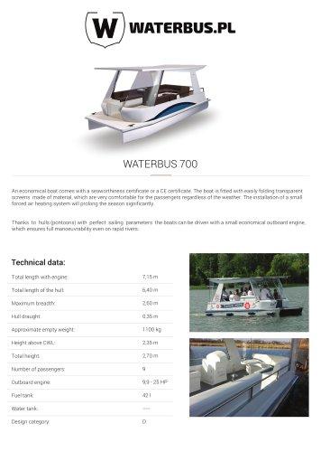WATERBUS 700