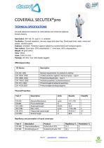 Coverall Secutex Pro - 1
