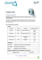 Foam tape - 1