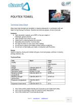 Polytex wet cleaning towel - 1