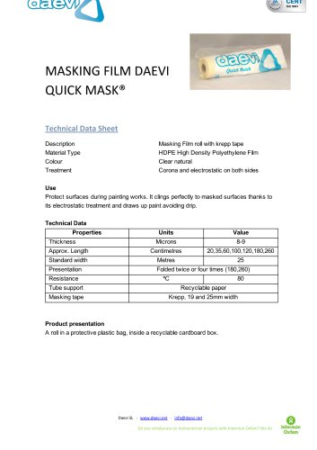 QUICK MASK®