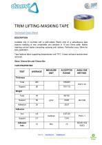 Trim-lifting Masking tape - 1