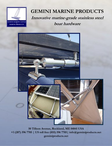 Gemini Marine Products (full catalogue)