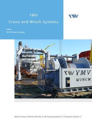 YMV Crane and Winch Systems Product Catalog 2018