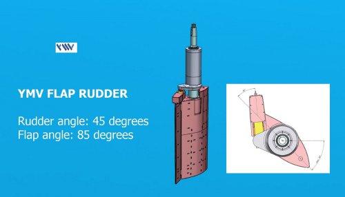 YMV Flap Rudder Technical Drawing