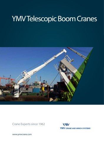 YMV Telescopic Boom Cranes