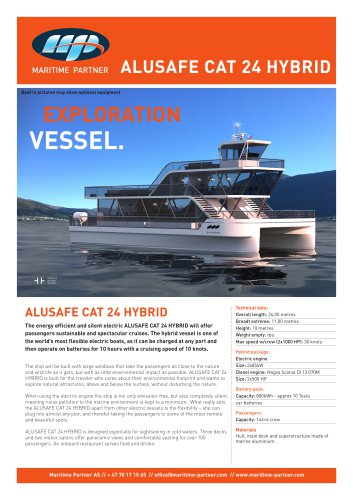 ALUSAFE CAT 24 HYBRID