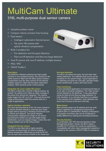 MultiCam Ultimate 316L multi-purpose dual sensor camera