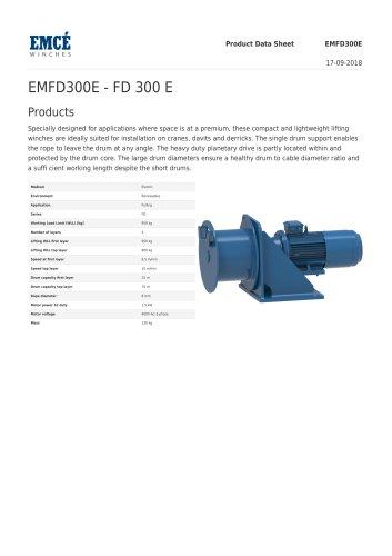 EMFD300E - FD 300 E