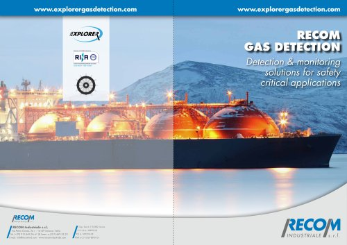 Gas Detection for LNG carrier