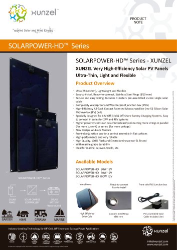 SOLARPOWER-HD™ Series