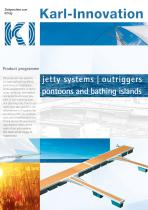 jetty systems outriggers  pontoons and bathing islands