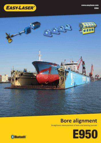 E950 Bore alignment system