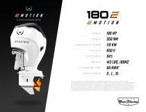 180 E engine - 3