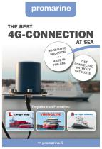 The best 4G connection at sea flyer