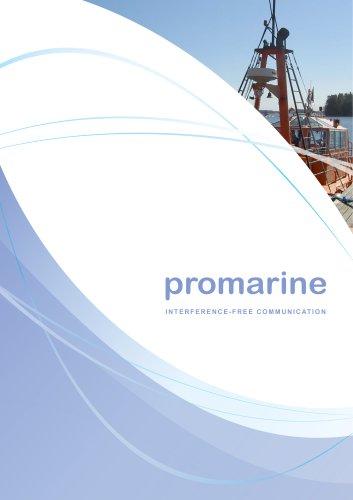 Promarine Catalogue 2018 (issue 4.2)