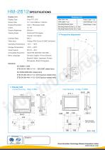 HM-2612 Marine LCD Monitor - 2
