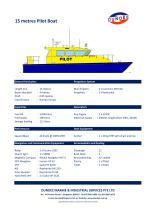 15m Pilot Launch / Crew Boat