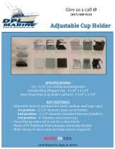 Adjustable Cup Holder - 1