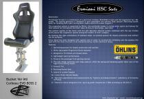 Bucket Ver MIL (Corbeau EVO BOSS 2) - Brochure