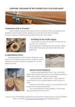 Fabricant de mât bois