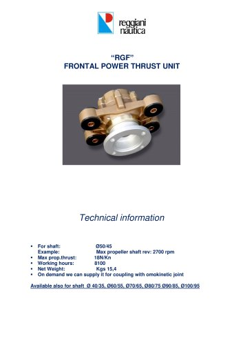 RGF POWER THRUST UNIT