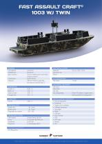 Fast Assault Craft 1003 WJ twin