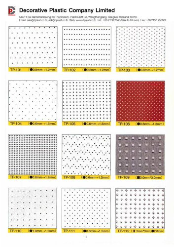 Catalog Perforated