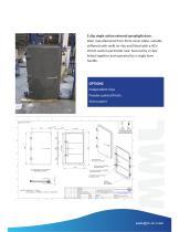 2 clip single action external spraytight door.