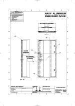 Aluminium Embossed Plate Door - 2