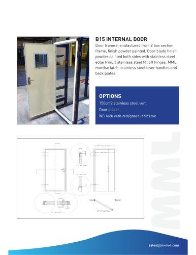 B15 Door