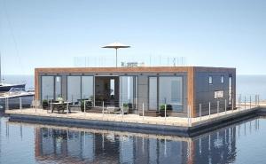 Casas flutuantes, Barcos-casa
