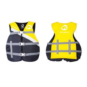 colete auxiliar de flutuação para esportes náuticos / para mulher / para homem / em espuma