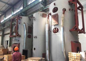 caldeira para navio com recuperação dos gases de escape / de fuelóleo