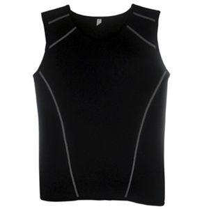 camiseta de neoprene sem mangas