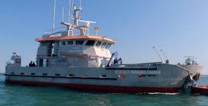 navio especial para transporte de tripulação