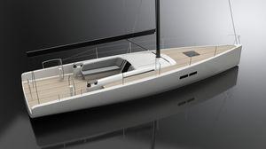 veleiro de cruzeiro / de popa aberta / em carbono / em alumínio