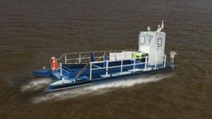 barco recolhedor de hidrocarbonetos