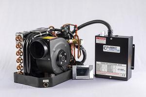sistema combinado de ar condicionado e aquecimento para barco