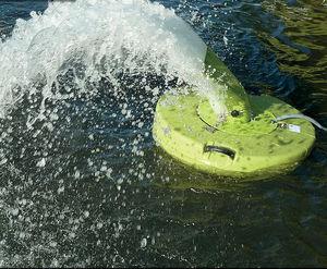 aerador de água para piscicultura