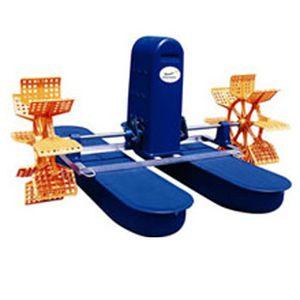 aerador de água para aquicultura / de pás
