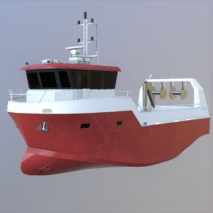 barco profissional barco de pesca polivalente / com motor de centro / em alumínio