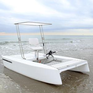 barco a pedais individual