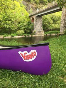 canoa de lazer / de rio / de 2 lugares