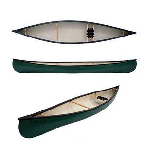 canoa de águas brancas / de 1 lugar / em polietileno