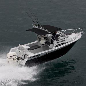 lancha Day Cruiser com motor de popa / open / esportiva / de pesca esportiva