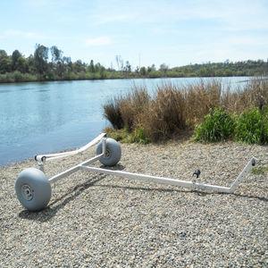 carrinho para lançamento à água / para barco