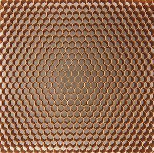 material de núcleo colmeia em aramida Nomex®