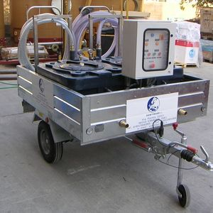 sistema de sucção de esgoto móvel